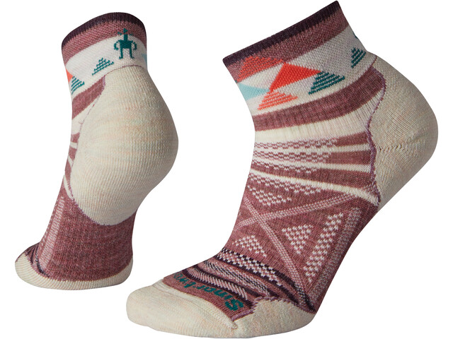 Smartwool PhD Outdoor Light Pattern Mini Calcetines Mujer, nostalgia rose
